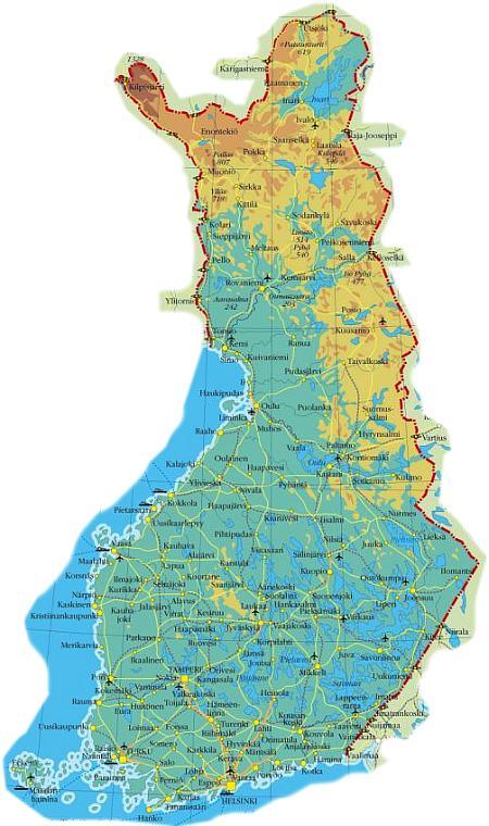 Suomen Kaupunki Kartat Karttoja